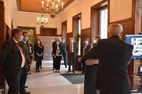 Discours du vice-président à l'ensemble des personnels du TA, présents physiquement et en visioconférence